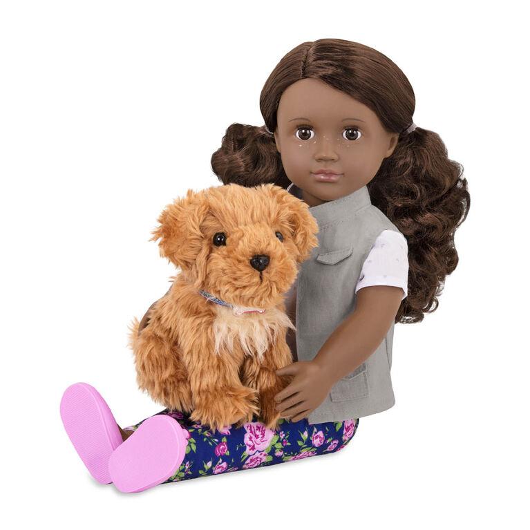 Our Generation, Malia, 18-inch Doll & Pet Set