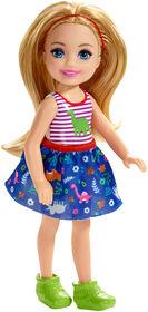 Barbie - Club Chelsea - Poupée Chelsea - cheveux blonds.