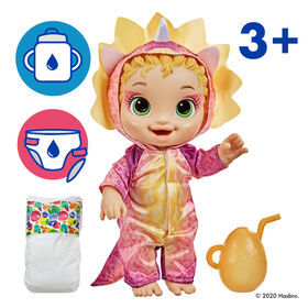 Baby Alive Dino Cuties Doll, Triceratops