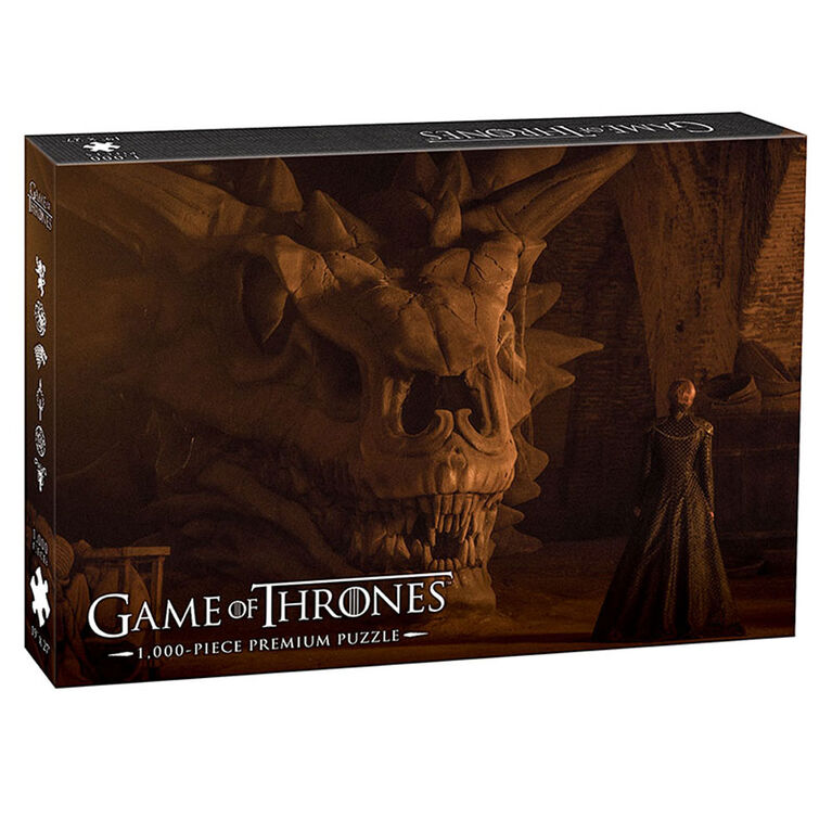 "Game of Thrones ""Balerion the Black Cread"" 1000 Piece Puzzle"