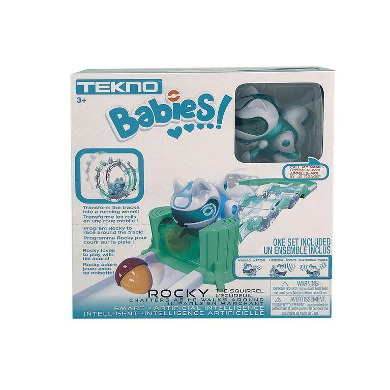 Tekno Babies Squirrel Playset