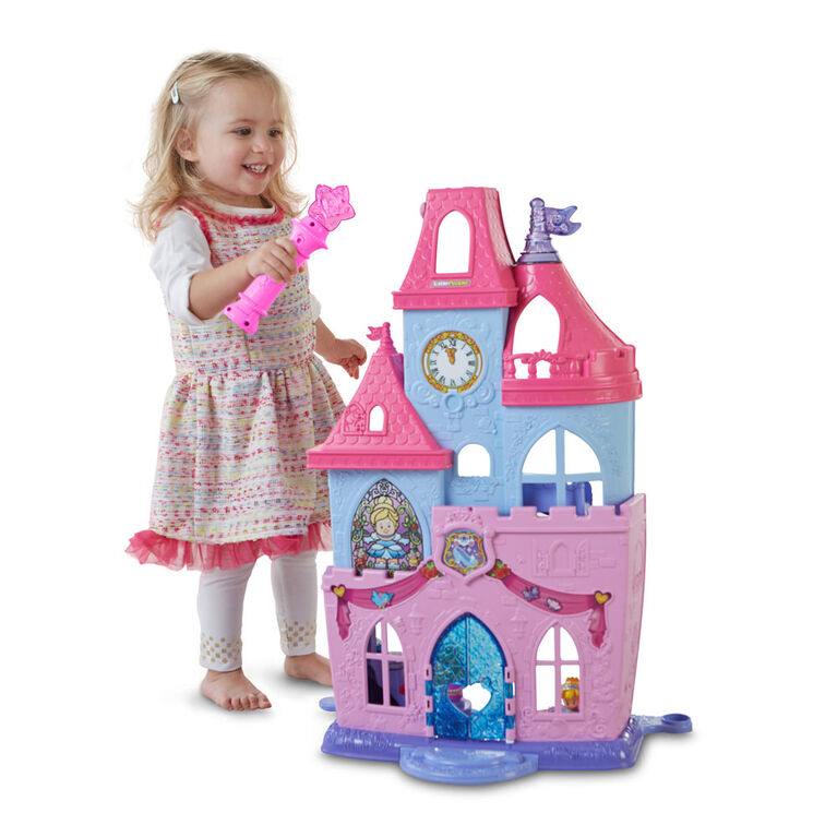 Disney Princess Magical Wand Palace by Little People - French Edition