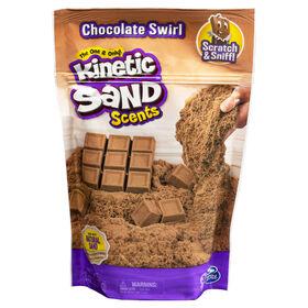 Kinetic Sand Scents, 226g de sable Kinetic Sand, parfum Chocolat fondant