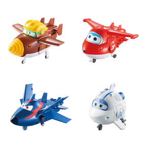 Super Wings Transforming Characters Collector 4 Pack