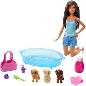 Barbie - Poupée et coffret de jeu Accessoires pour animaux.