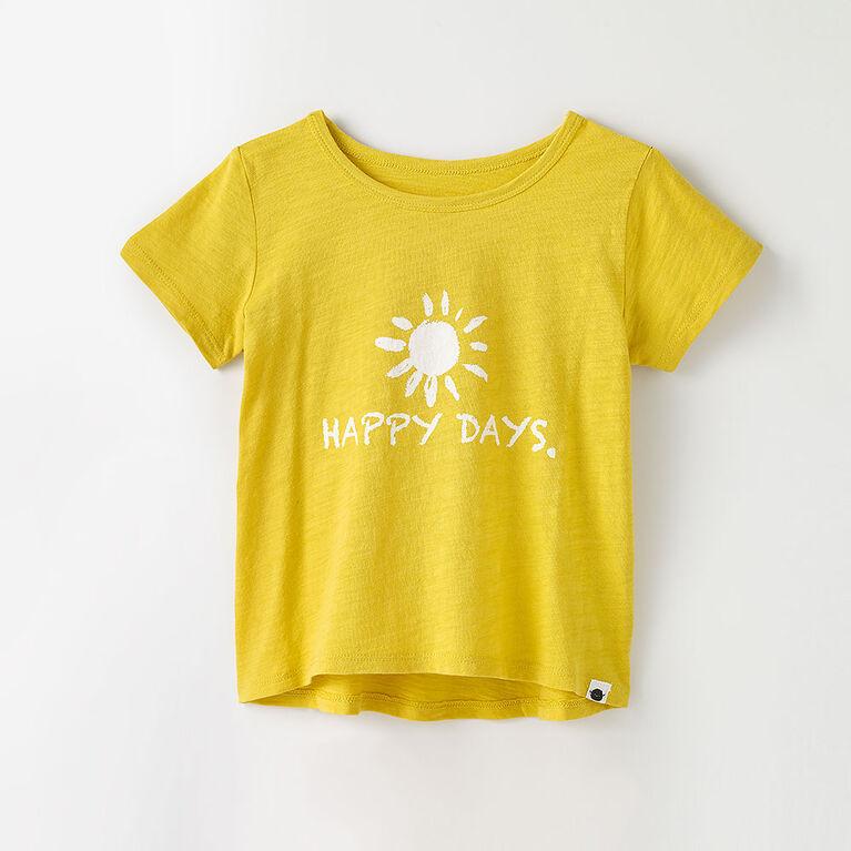 12-18m t-shirt imprimé à manches courtes - imprimé bambou