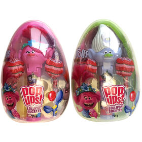Trolls Pop Ups Jumbo Egg - Items sold individually - characters may vary