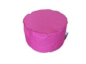 Boscoman - Solo Ottoman Bean Bag - Pink