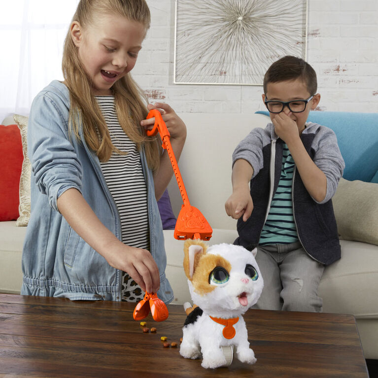 furReal Grands pas Poopalots, animal interactif (chaton)
