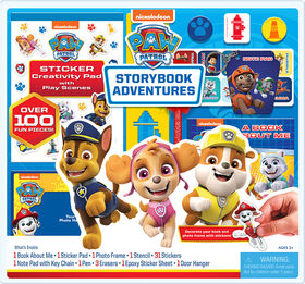 Paw Patrol 100Pcs Activity Set - English Edition