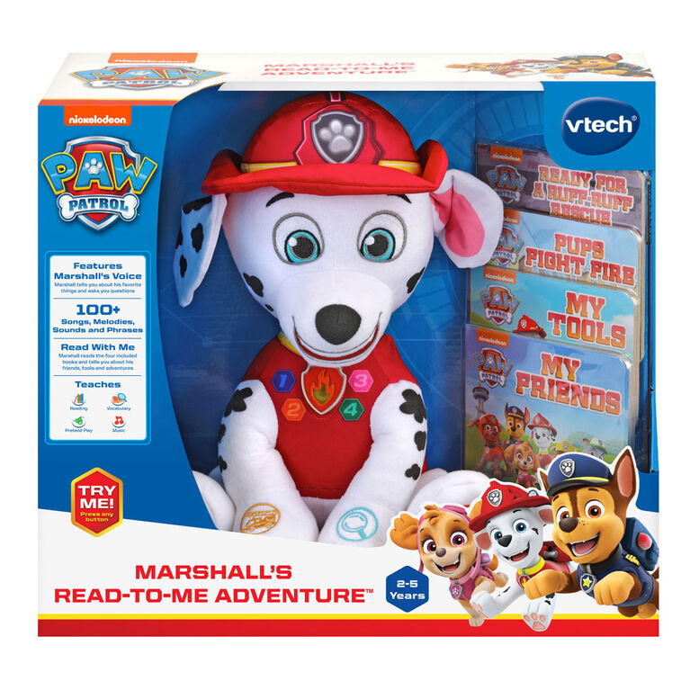 VTech PAW Patrol Marshall's Read-to-Me Adventure - English Edition