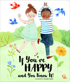 Board Book Picture Book If You're Happy and You Know It Sing-Along Board Book
