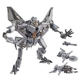 Transformers Movie Masterpiece, figurine Starscream de collection, série MPM-10, du film original Transformers - Édition anglaise - Notre exclusivité