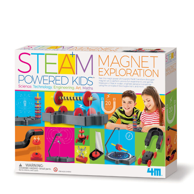 4M Steam Kids Deluxe Magnet Exploration