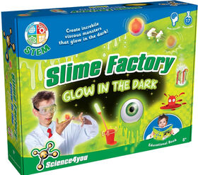 Science4you - Slime Factory Glow in the Dark