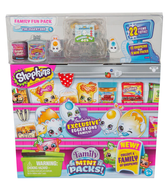 Shopkins Season 11 Family Mini Packs! Family Fun Pack