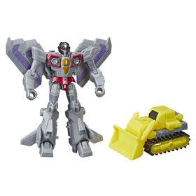 Transformers Cyberverse Spark Armor, figurine Starscream.