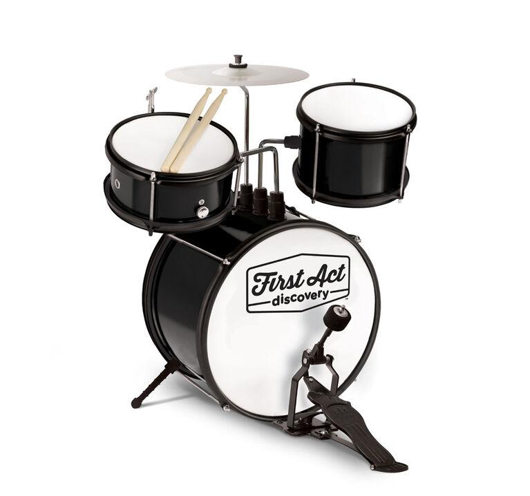 Black Drum Set