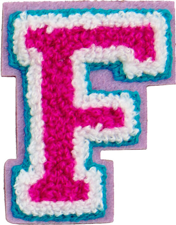 Patches: Decorative Letter - F