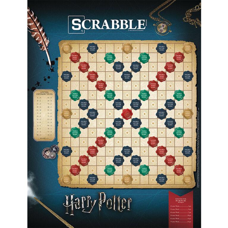 """SCRABBLE: """"World of Harry Potter"""" Jeu De Plateau - Édition anglaise"""