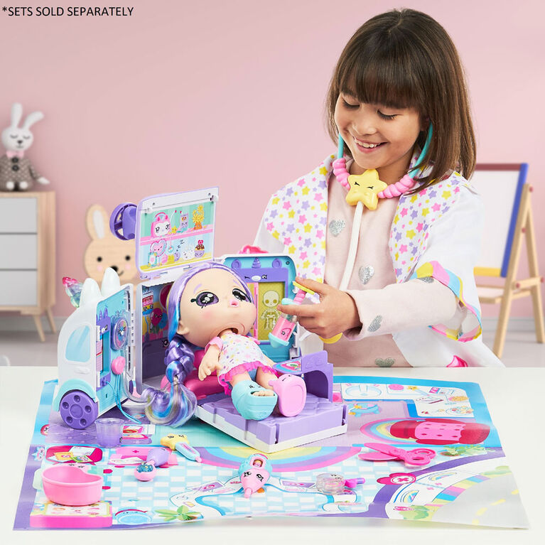 Kindi Kids Snack Time Friends: Shiver 'n' Shake Rainbow Kate - English Edition