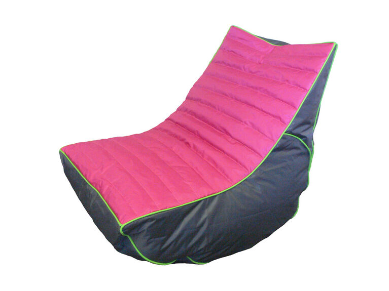 Boscoman - Cory Teen Lounger / Gaming Chair Bean Bag - Pink