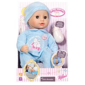 Baby Annabell 36cm poupée garçon - Little Alexander