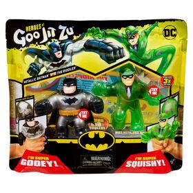 Heroes of Goo Jit Zu - DC S2 Versus Pack - Batman Vs Riddler