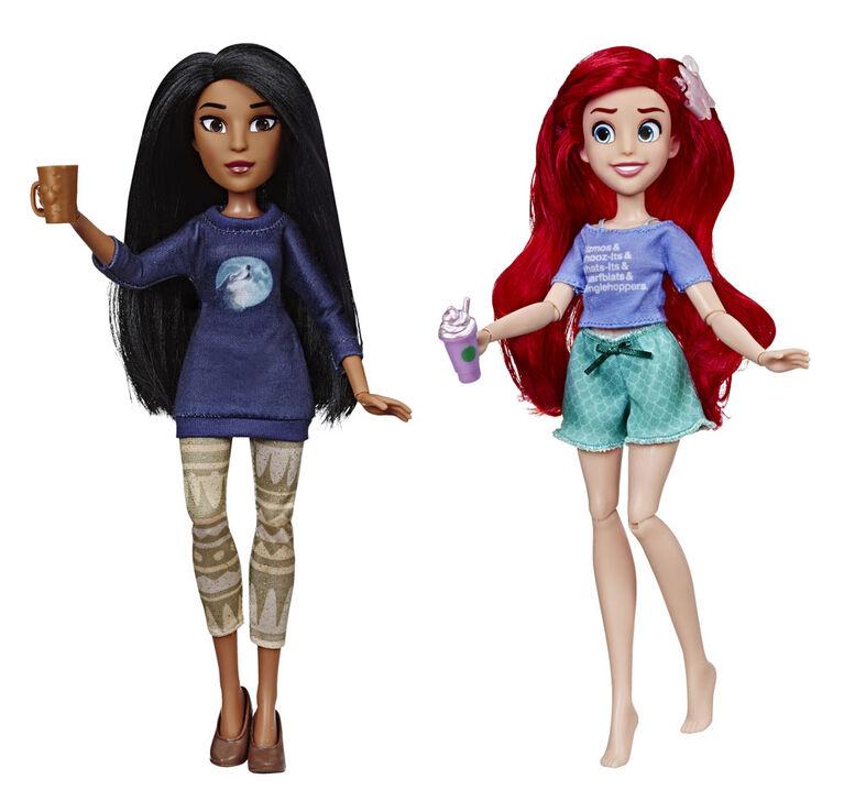 Disney Princess Ralph Breaks the Internet, Ariel and Pocahontas.