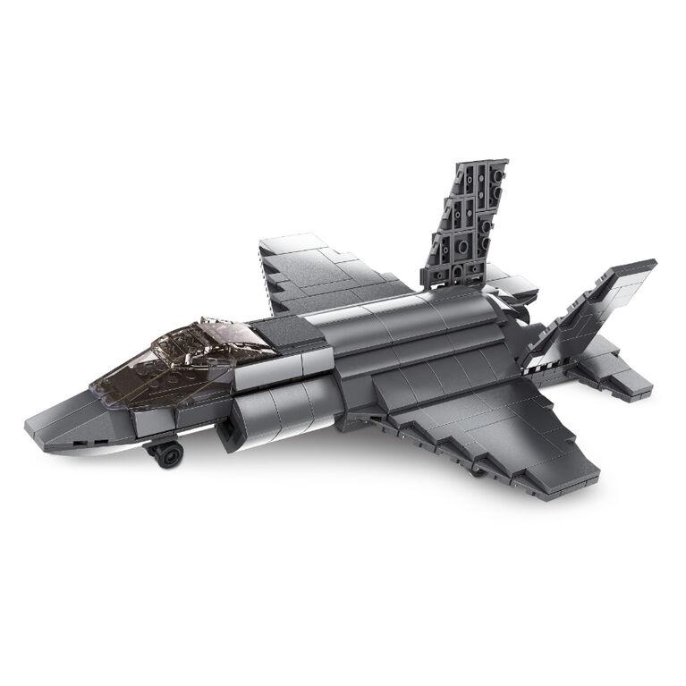 Dragon Blok - Avion de chasse F-35 (Fighter Jet)