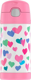 Thermos - FUNtainer Bottle - Hearts 12oz