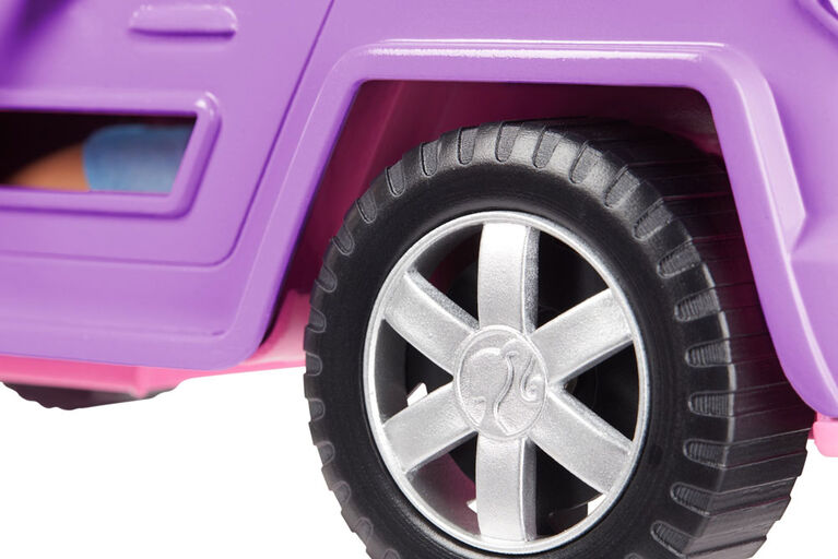 Barbie - Jeep Violette