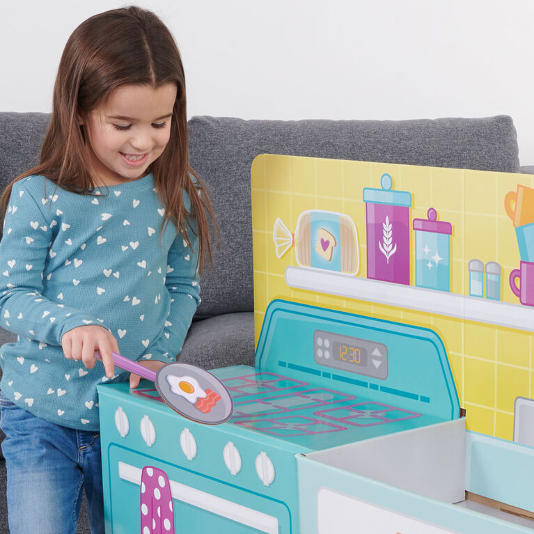 Pop2Play Toddler 2-In-1 Kitchen Nursery by WowWee
