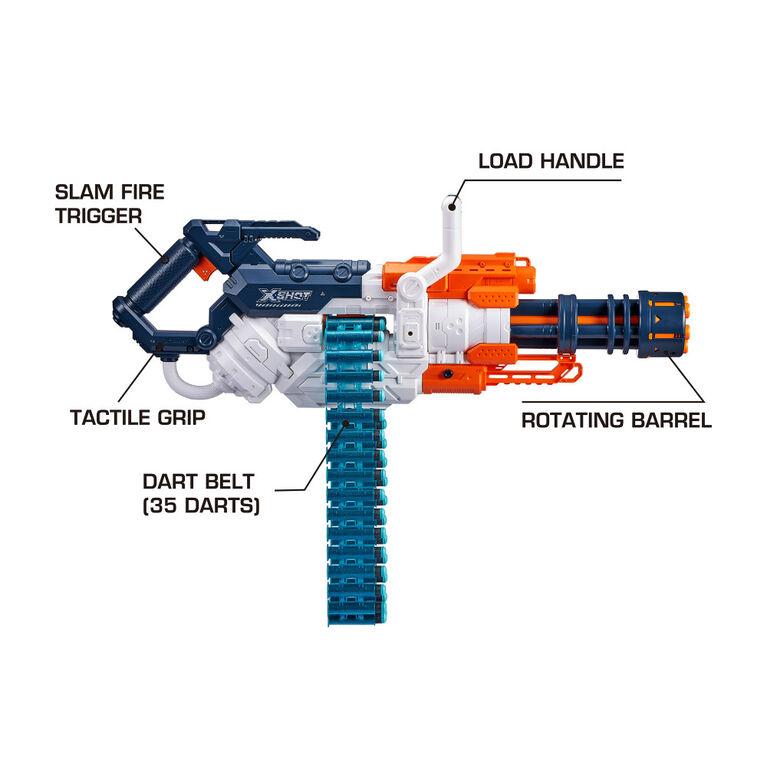 X-Shot Excel Crusher Foam Dart Blaster (48 Darts)