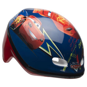 Disney Pixar Cars - Toddler Bike Helmet - Lightning McQueen (Fits head sizes 48 - 52 cm)