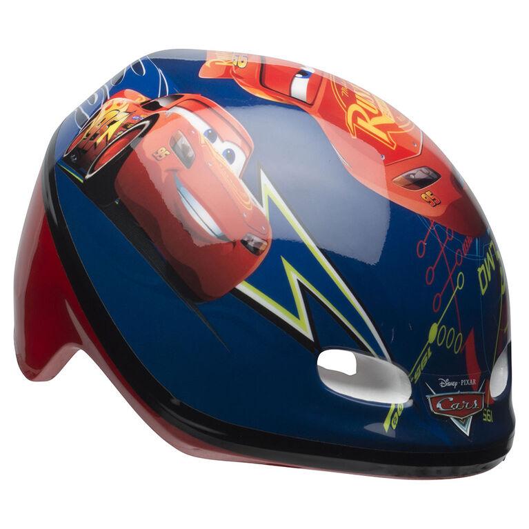 Disney Pixar Cars - Toddler Bike Helmet - Lightning McQueen (Fits head sizes 48 - 52 cm)