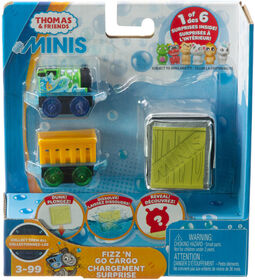 Fisher-Price - Thomas et ses amis - MINIS - Chargement surprise - Percy et Chiot - Édition anglaise