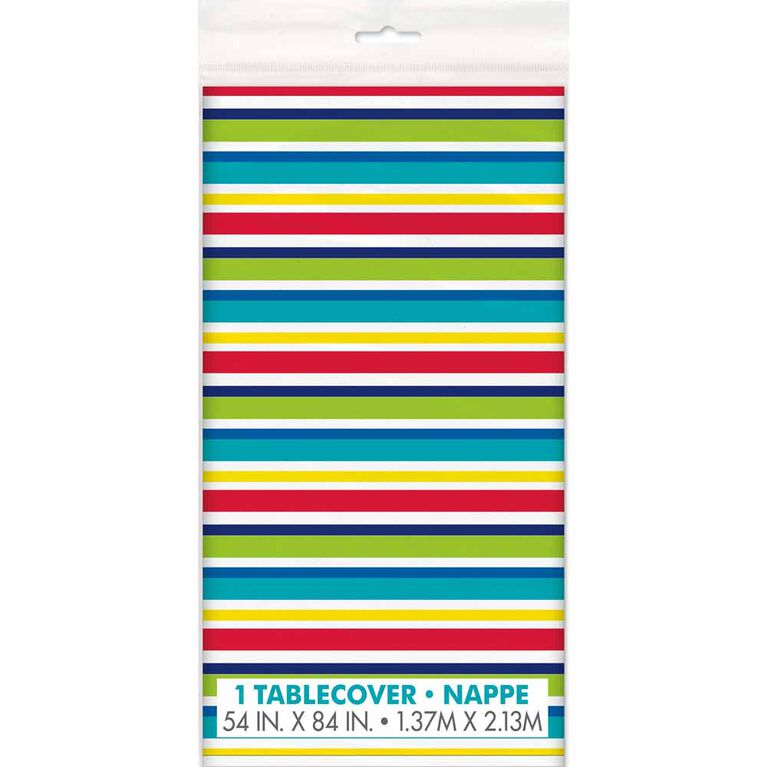 """Peppy Birthday Nappe en Plastique 54"""" x 84"""" - Édition anglaise"""