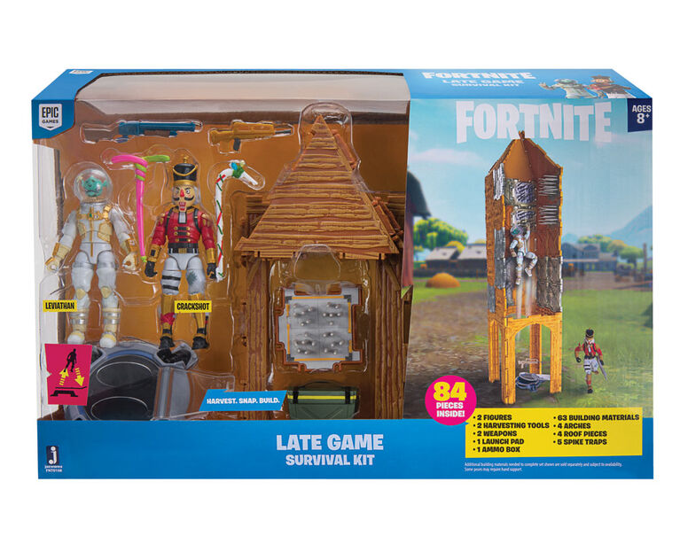 Fortnite 2 Figure Pack Late Game Survival Kit - English Edition
