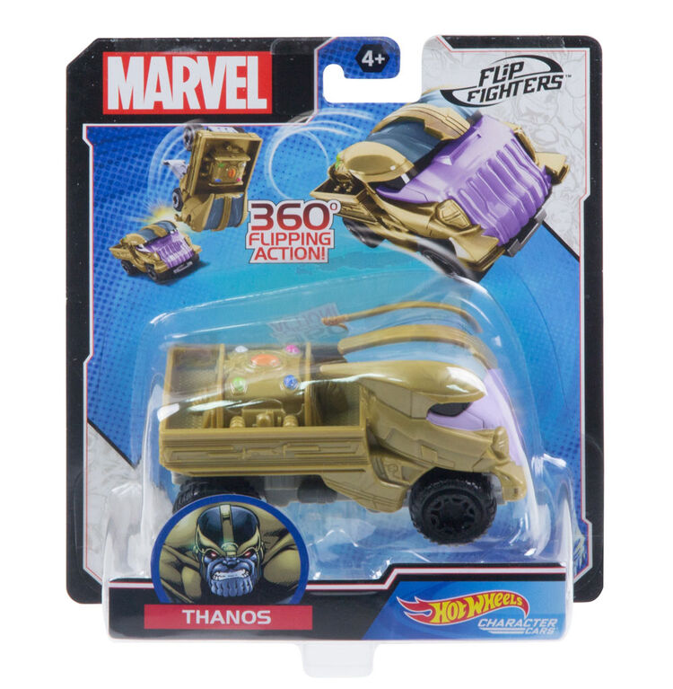 Hot Wheels Marvel Flip Fighters Thanos Vehicle - Styles May Vary