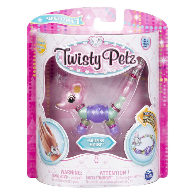 Twisty Petz - Muffins Mouse Bracelet