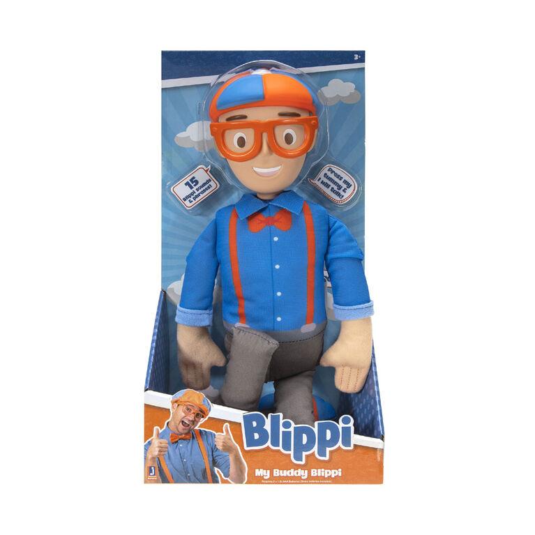 Blippi - My Buddy Blippi - Feature Plush - English Edition