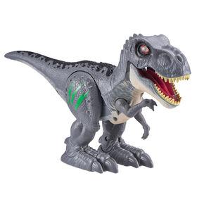 Robo Alive Attacking T-Rex Series 2 Dinosaur Toy Grey