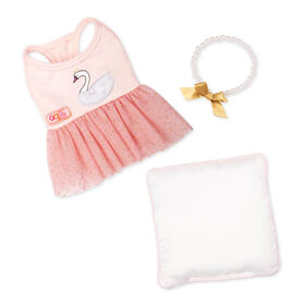 Our Generation, Pirouette Puppy, Plush Dog Ballet Outfit