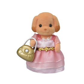 Calico Critters - Serie Town Girl - Laura Toy Poodle