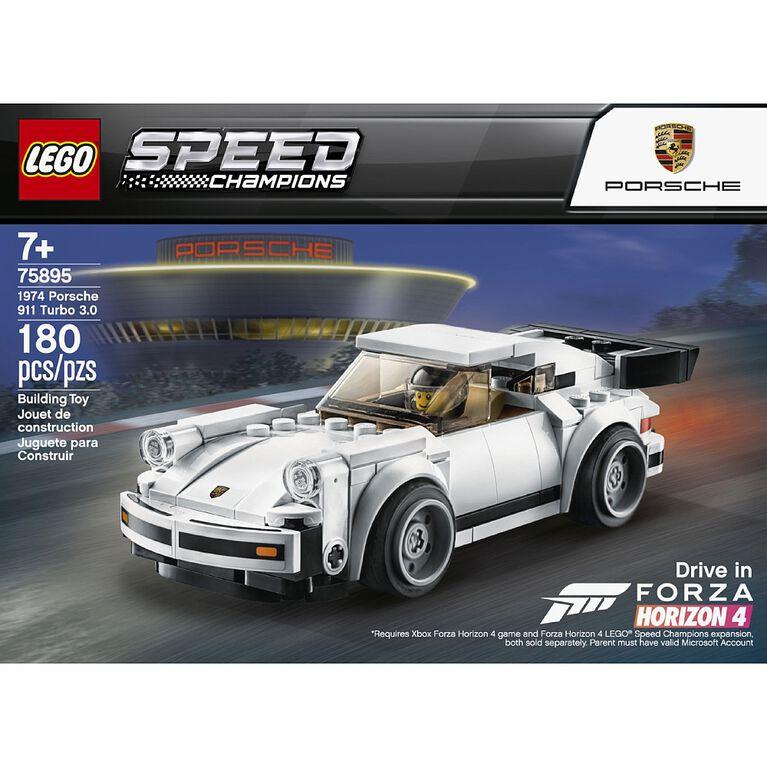 LEGO Speed Champions 1974 Porsche 911 Turbo 30 75895