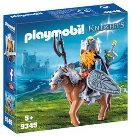 Playmobil - Combattant nain et poney