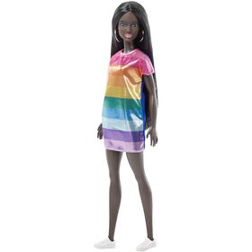 Barbie Fashionistas Rainbow Bright Doll