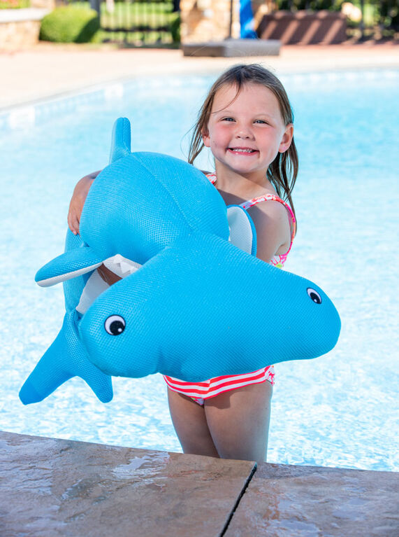 Hammerhead Shark Float Pool Blue