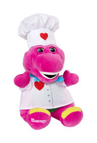 Fisher-Price Barney Chef Hat & Figure - English Edition